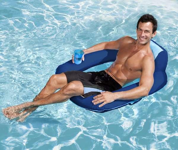 Spring float sun seat 1000 piscine - Materassini per piscina ...
