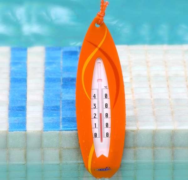 Termometro galleggiante surf per piscina