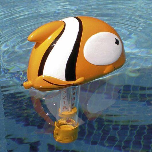 Termometro galleggiante pesce