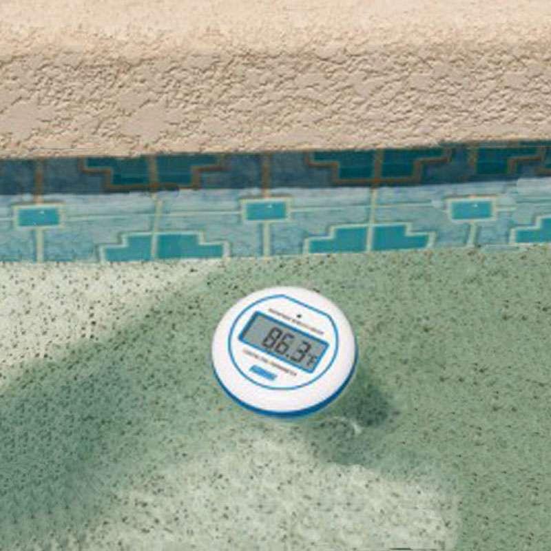 Termometro per piscine digitale wireless 1000 piscine for Termometro piscina
