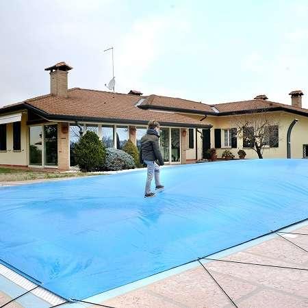 Airtex copertura invernale per piscine 1000 piscine - Materassini per piscina ...