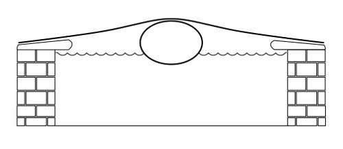 Airtube cuscino gonfiabile per copertura piscine