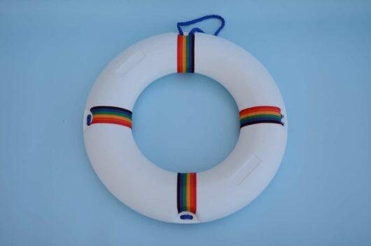salvagente per piscina