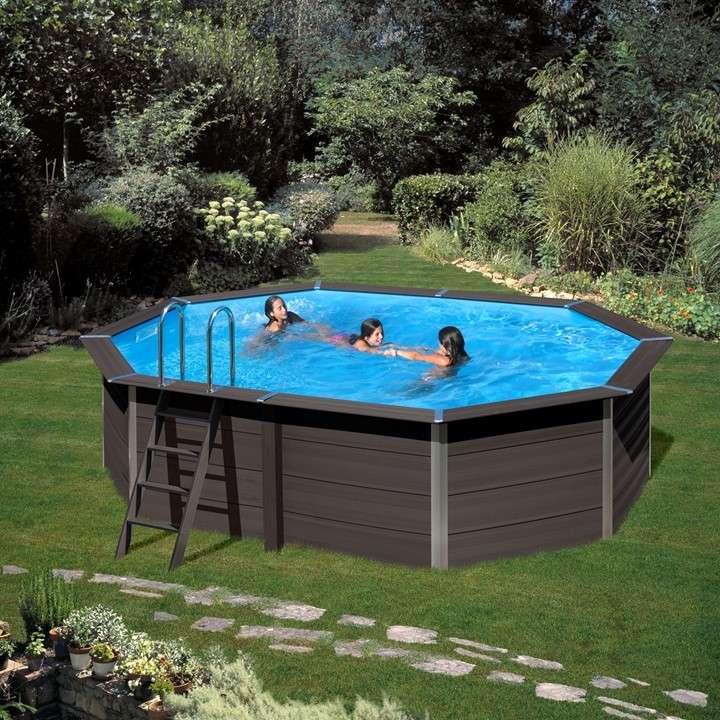 Composite Pool Avantgard Piscina Fuori Terra In Legno Composito
