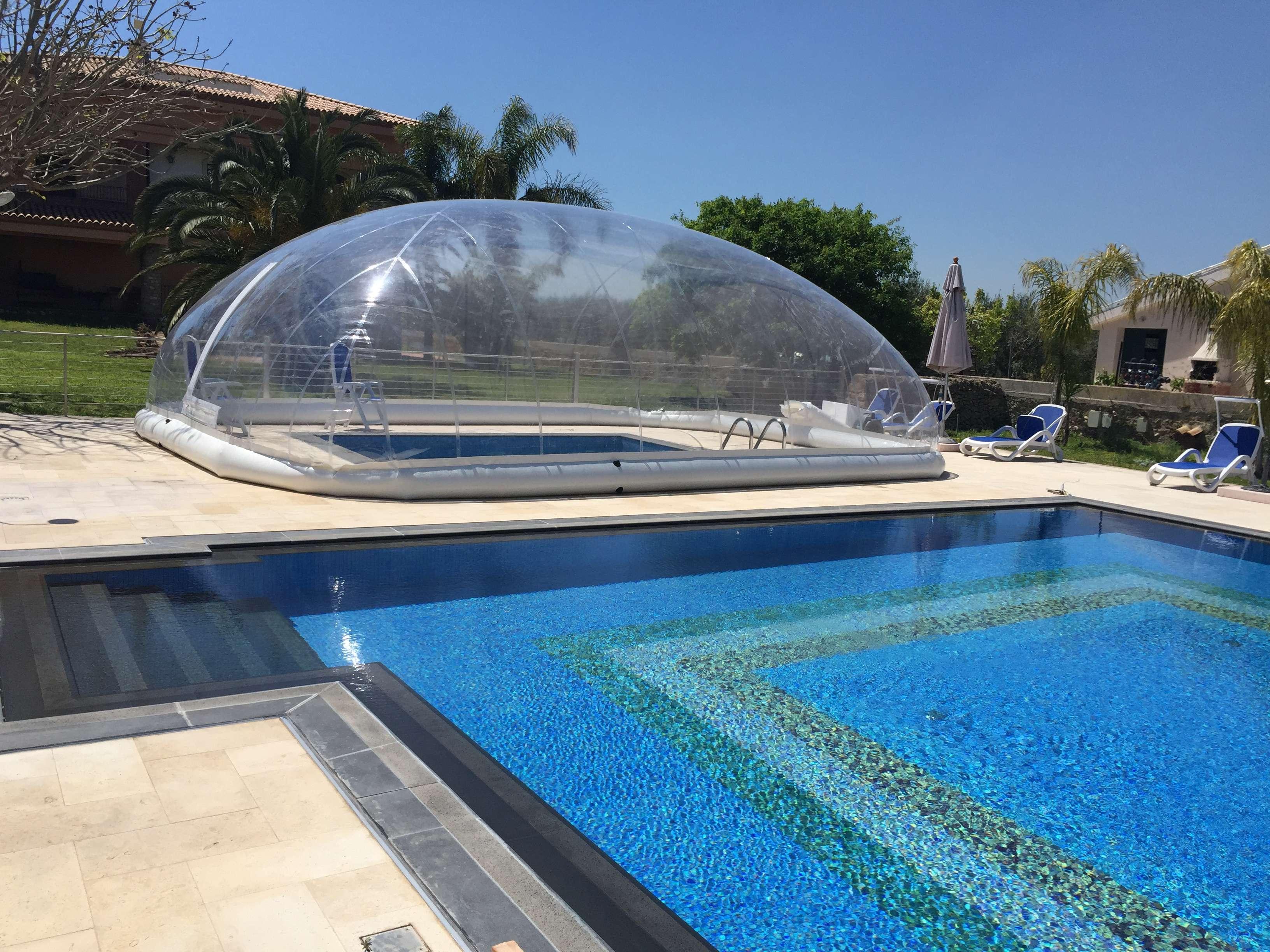 Cristalball cupola gonfiabile per piscine 1000 piscine for 1000 piscine