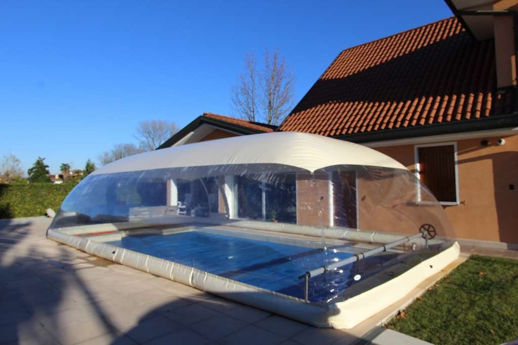 Cristalball cupola gonfiabile per piscine 1000 piscine for Prodotti per piscina prezzi