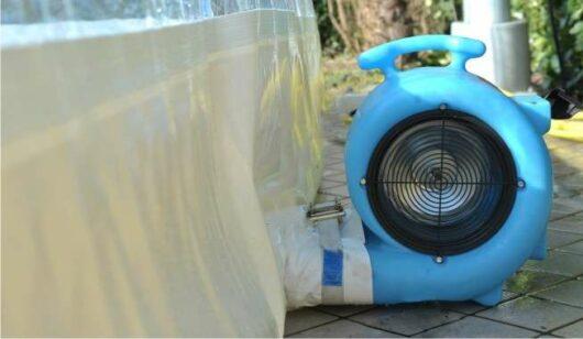 Soffiante CristalBall cupola gonfiabile per piscine ad effetto serra, copertura protettiva