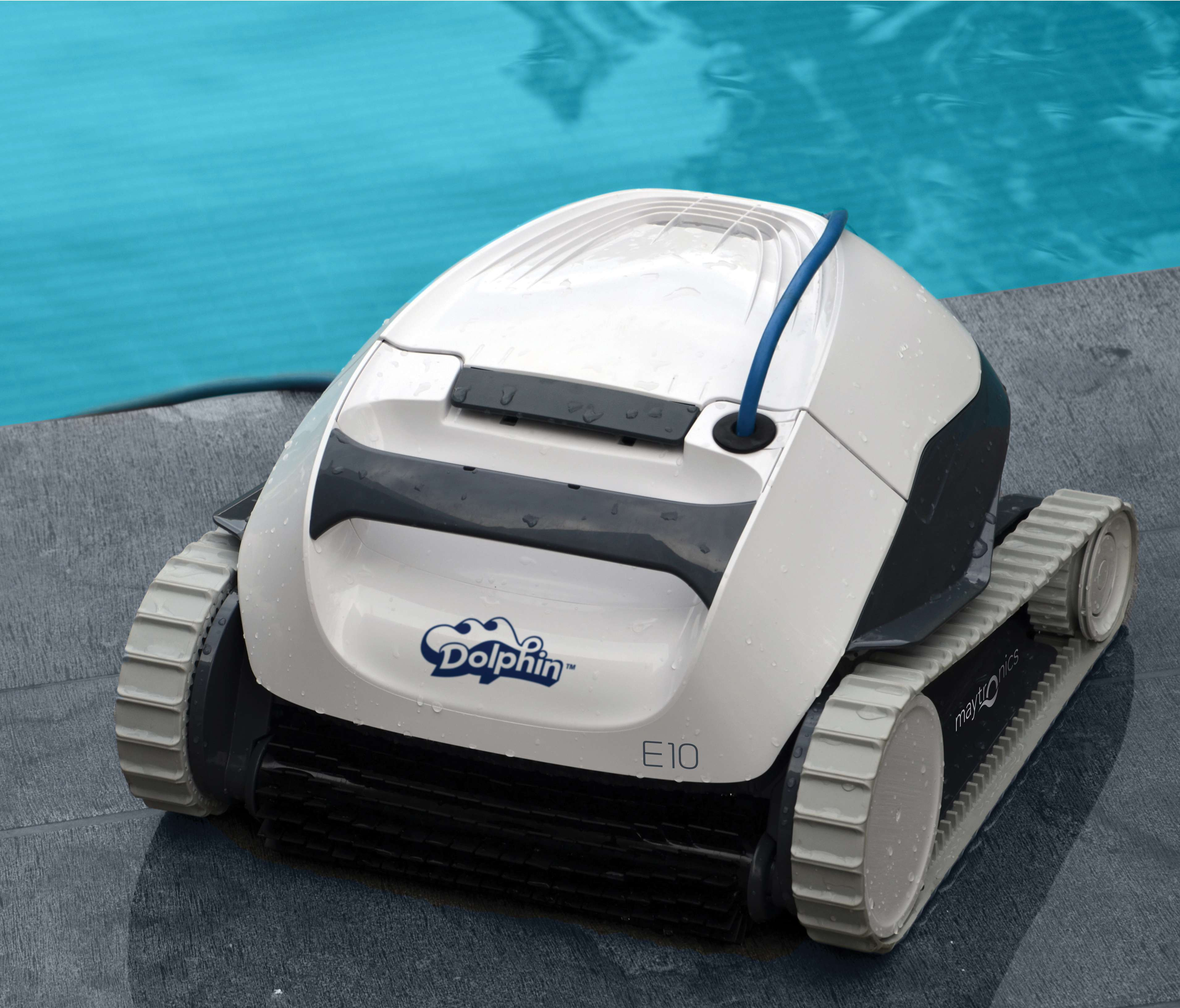 Dolphin e10 robot pulitore piscine maytronics for Robot piscina dolphin