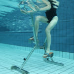 Bicicletta per Acquafitness Happy Bike Waterflex della Poolstar, in Inox AISI 316L.