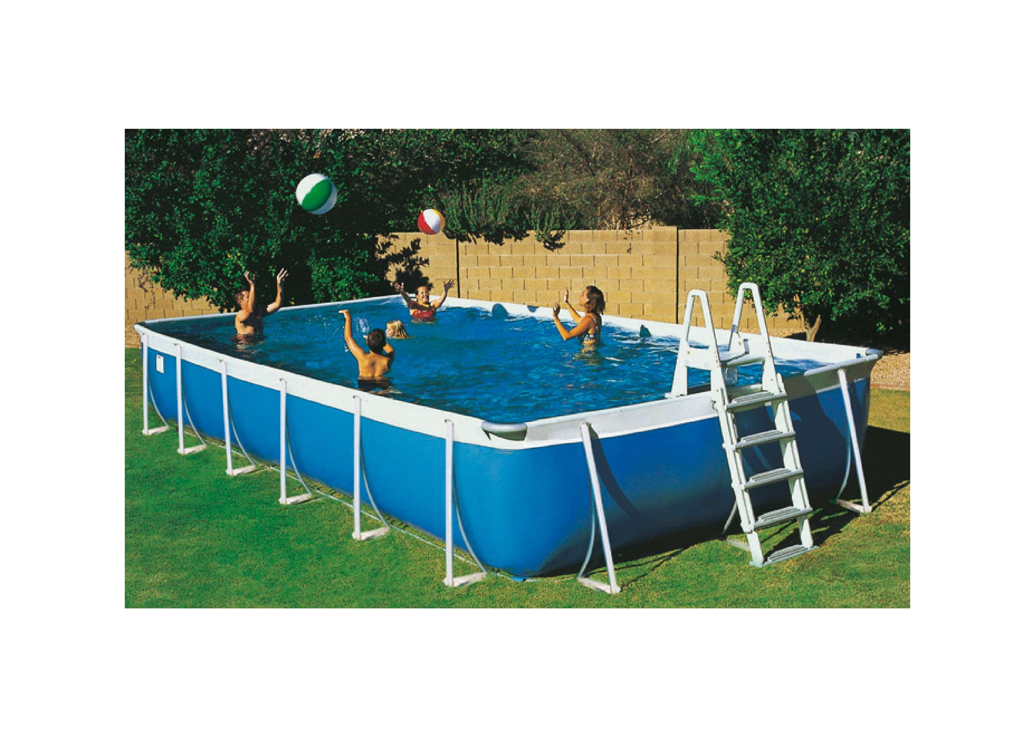 Milos piscina fuori terra autoportanti 1000 piscine - Piscine fuori terra autoportanti ...