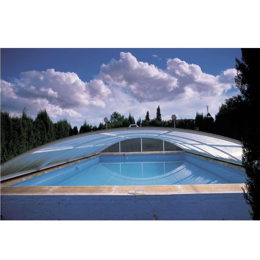 Copertura telescopica mercurio bassa 1000 piscine for 1000 piscine