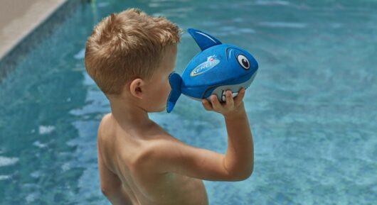 Mini pallone galleggiante a forma di Squalo.