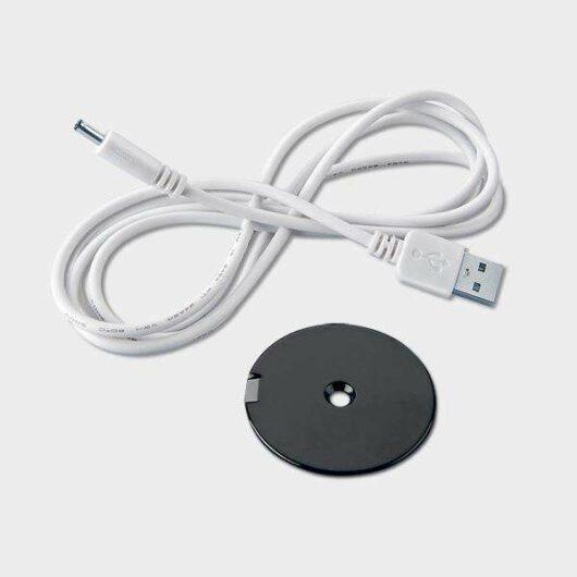 Cavo di ricarica USB e base magnetica faro magnetico a batteria ricaricabile magnetico colorato