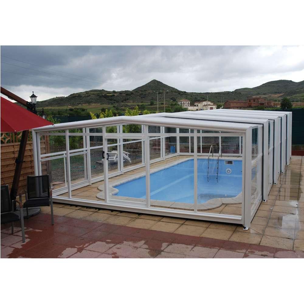 Copertura telescopica per piscine Oro Alta