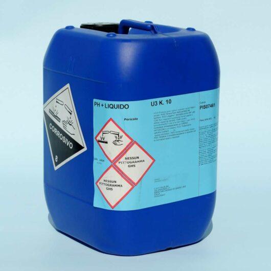 Base liquida per pH