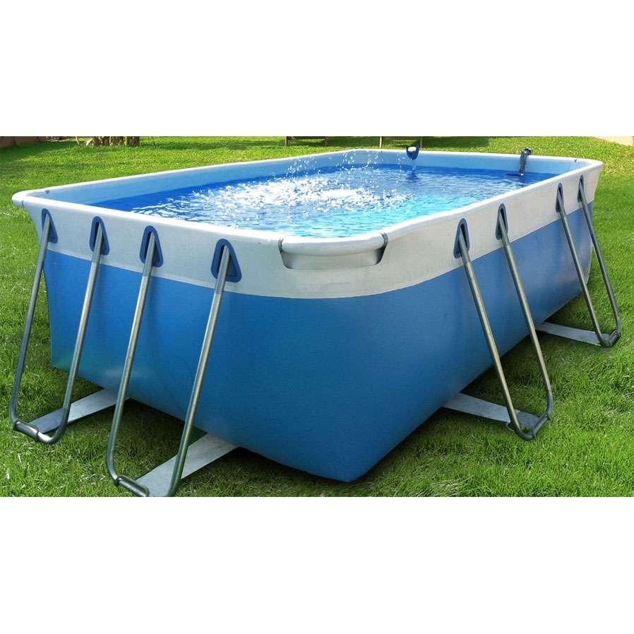 Comfort 100 piscine fuoriterra autoportanti 1000 piscine for Piscine usate