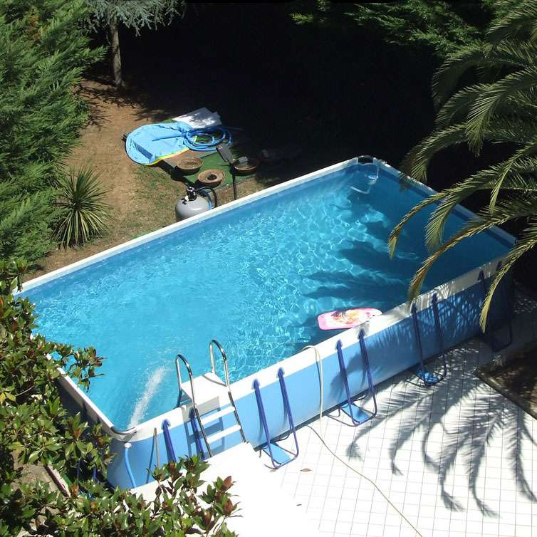 Luxury large 140 piscine fuoriterra autoportanti 1000 - Misure piscine fuori terra ...