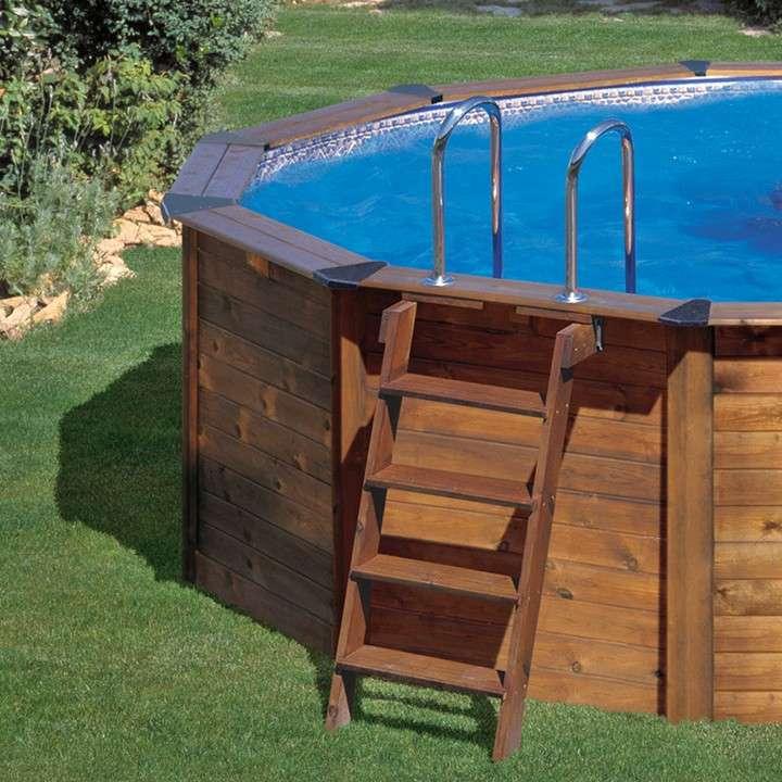 Nature pool hawaii piscine in legno 1000 piscine - Materassini per piscina ...