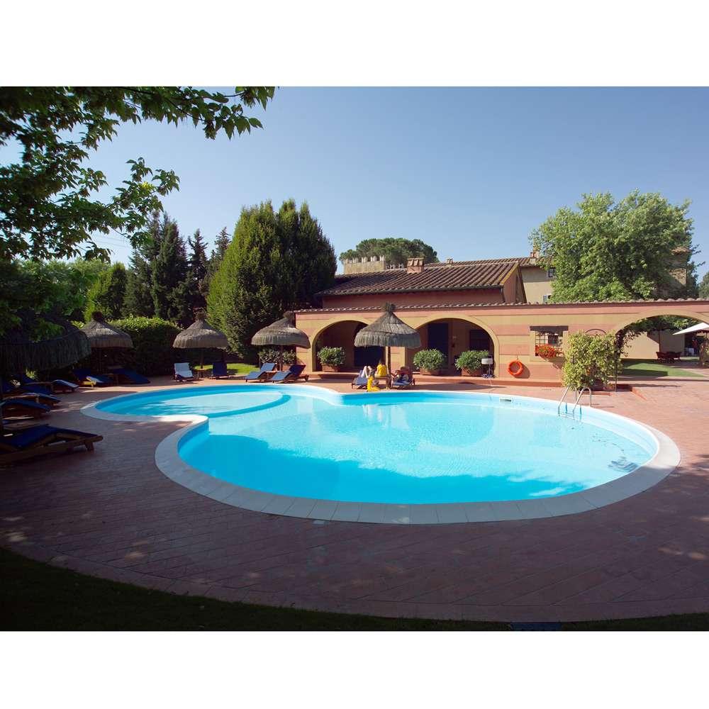 Piscina interrata a forma libera in kit a skimmer - Prezzo piscina interrata ...