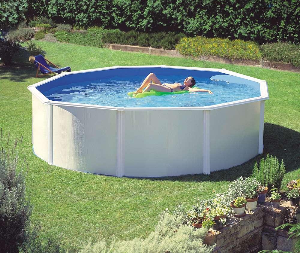Piscina dream pool bali tonda - Piscine fuori terra autoportanti ...