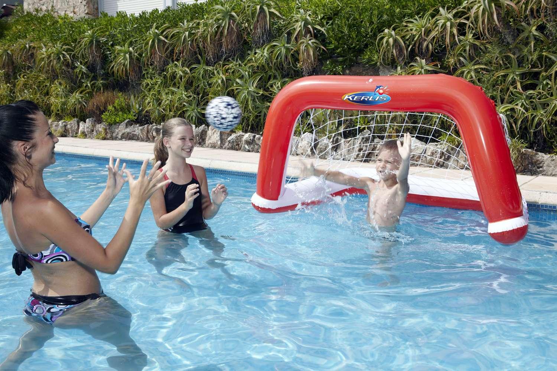 Waterpolo rossa 1000 piscine - Materassini per piscina ...