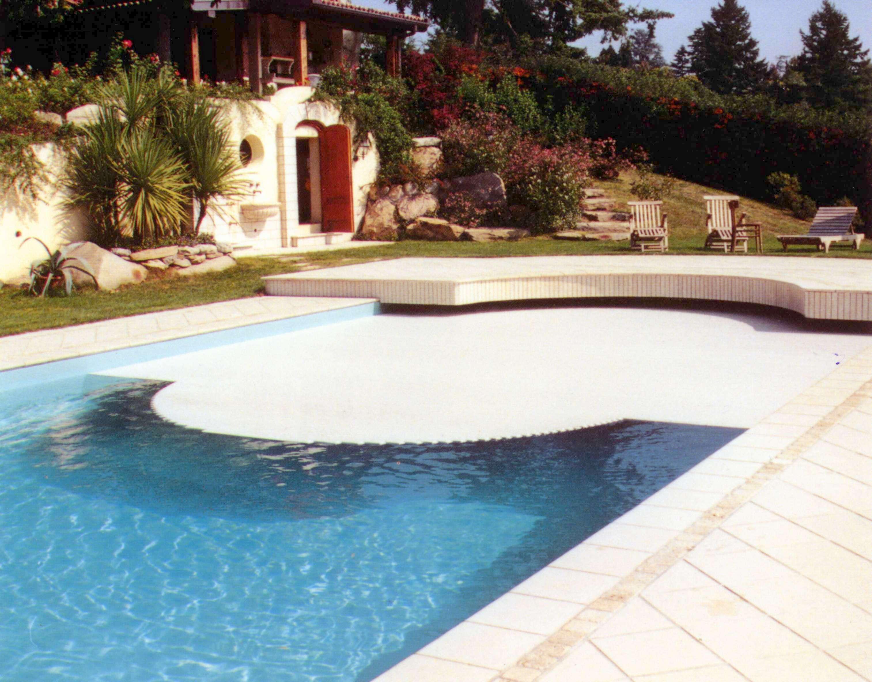 Copertura piscine a tapparella