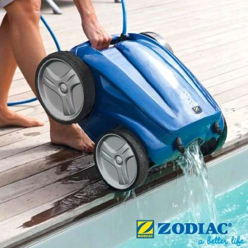 Zodiac vortex 2 robot pulitore piscine for Robot piscine zodiac vortex