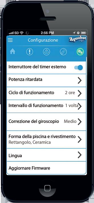 App Aquabot per iOS e Android - Fluidra