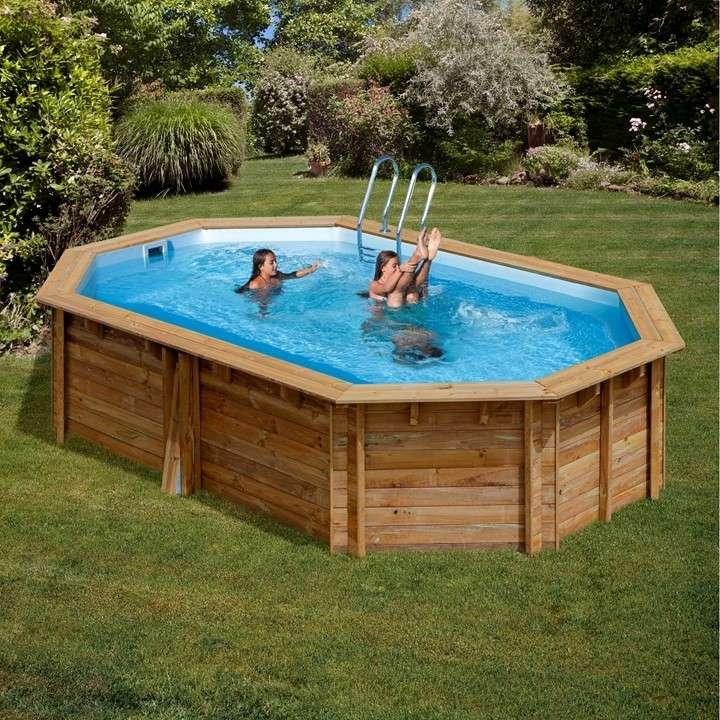 Piscine wooden pool ottagonali piscine fuori terra 1000 piscine - Piscina fuori terra ...