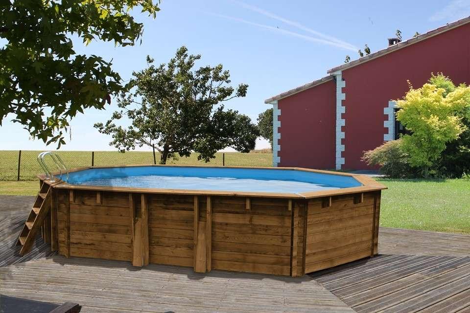 Rivestimento In Legno Per Piscine Fuori Terra : Piscine wooden pool ottagonali piscine fuori terra 1000 piscine