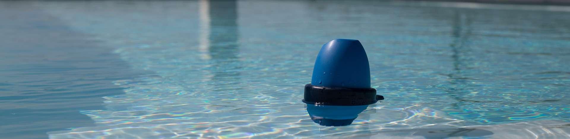 Analizzatore digitale dell'acqua della piscina
