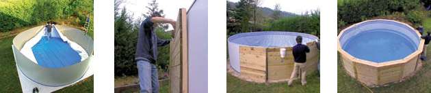 installazione neture pool