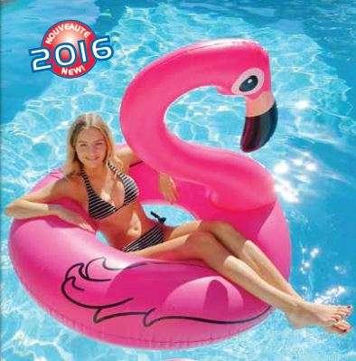 fenicottero rosa galleggiante novità nel catalogo kerlis