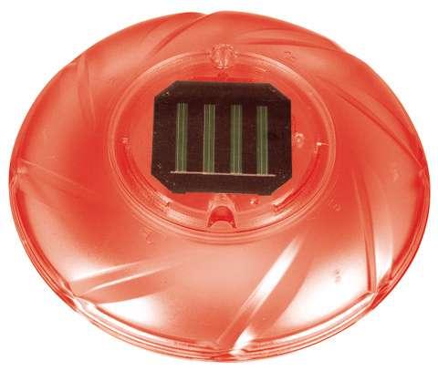 luci solari galleggianti a LED arancione