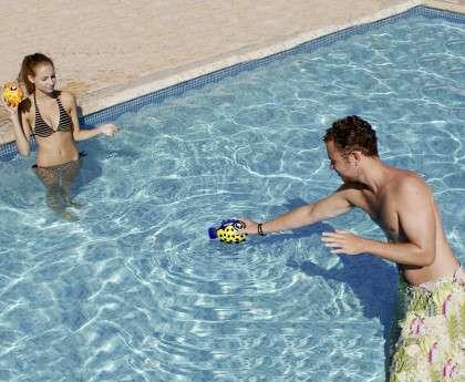 Mini palla pesce 1000 piscine for Pesci finti per piscina