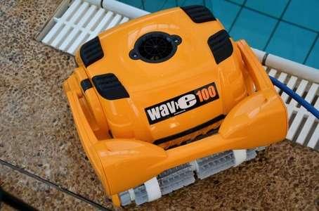 Maytronics Dolphin Wave 100 visto dall'alto