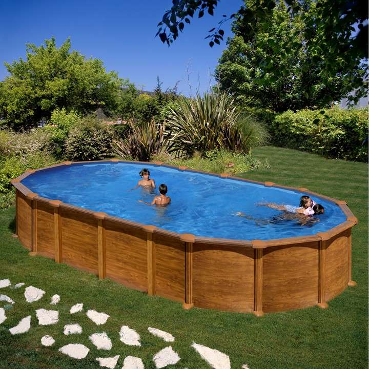 Piscina amazonia ovale piscine fuori terra 1000 piscine for Piscine in offerta fuori terra