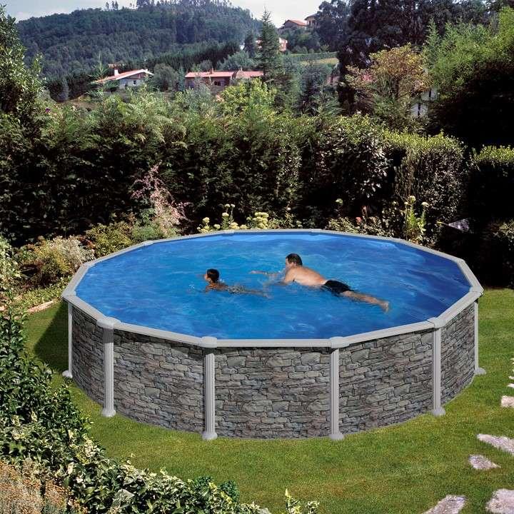 Piscina corcega ovale o tonda piscine fuori terra 1000 for Piscine in offerta fuori terra