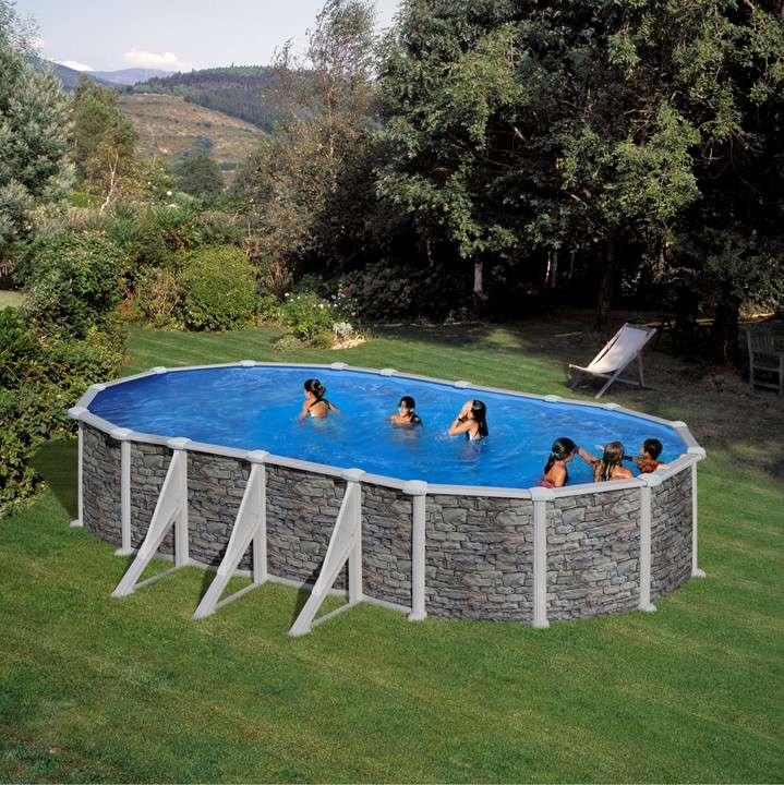 Piscina corcega ovale o tonda piscine fuori terra for Piscine fuori terra
