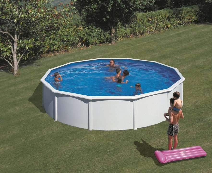 Piscina atlantis ovale o tonda piscine fuori terra for Piscinas desmontables baratas intex