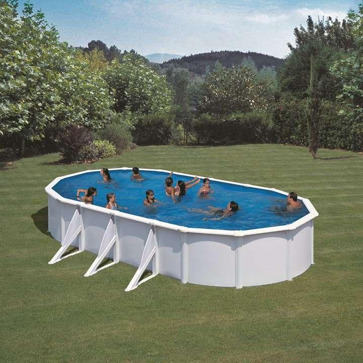 Piscina fidji ovale o tonda piscine fuori terra 1000 for Piscine in offerta fuori terra