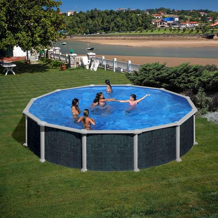 Piscina java ovale o tonda piscine fuori terra 1000 for Piscina java
