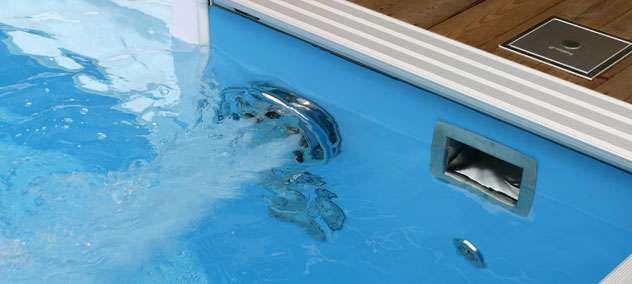 Impianto professionale per nuoto contro corrente.