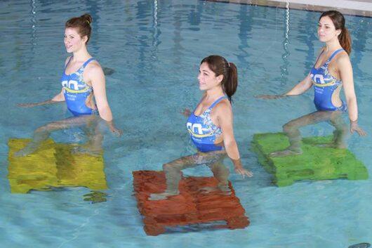 puzzle step uso in piscina