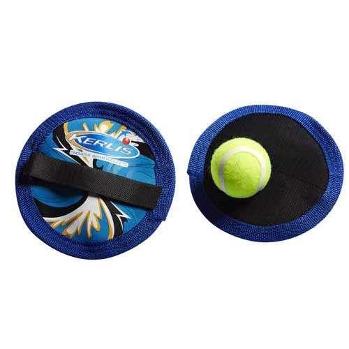 racchette stratch kerlis blu con palla