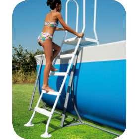 Piscine fuori terra autoportanti diva - Scaletta per piscina fuori terra ...