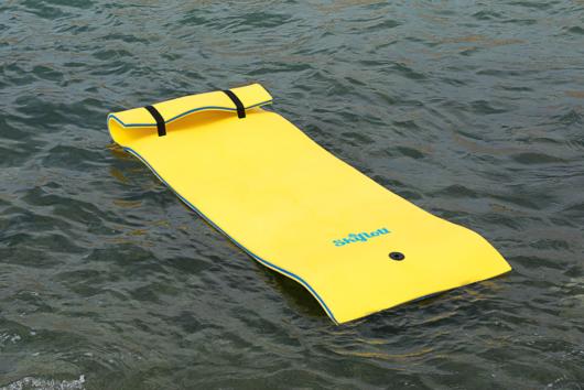 Materassino Skiflott in Acqua