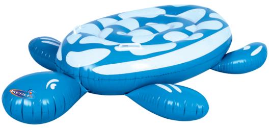 Tartaruga gonfiabile blu