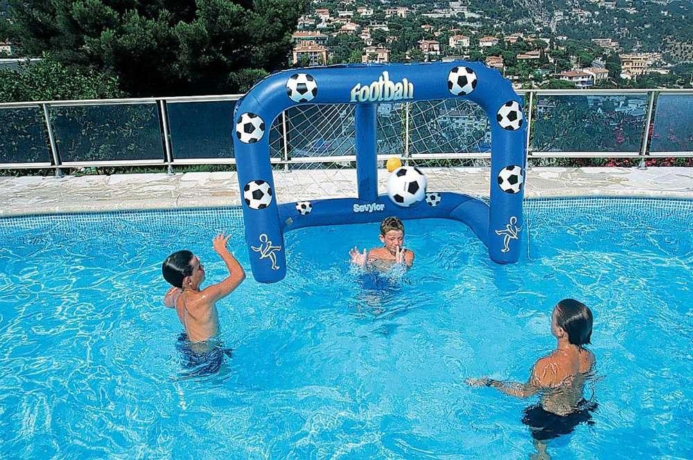Porta da calcio water soccer 1000 piscine - Porta calcio gonfiabile ...